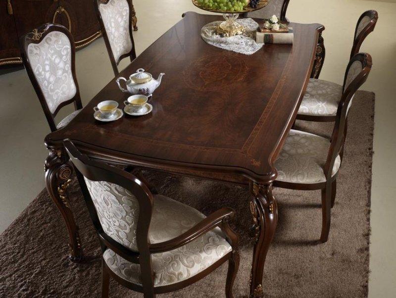 table a manger de style louis xv en 37