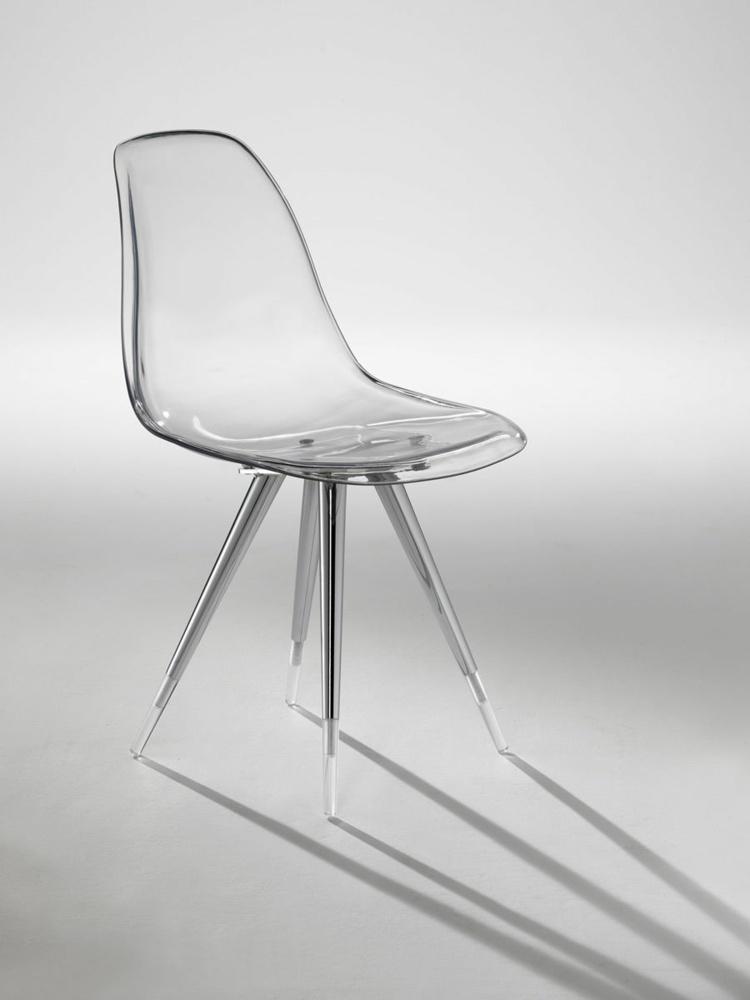 Chaise Design Transparente En 34 Modles Lgers Et Limpides