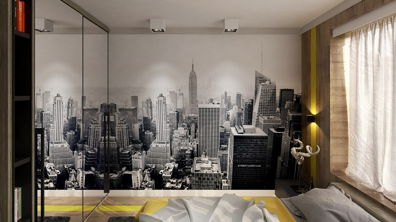 chambre style new york idees a theme