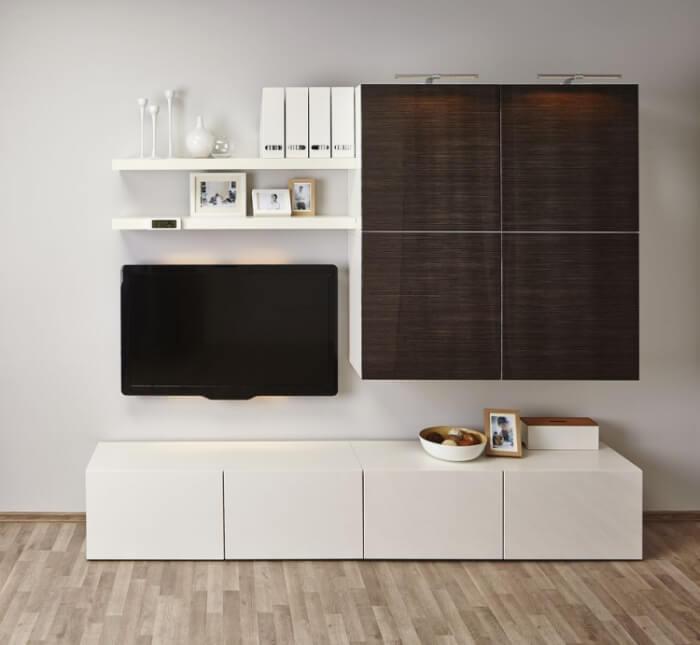 Meuble Besta Ikea Rangement Modulable En 27 Ides Top