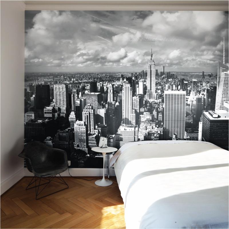 Poster Mural New York Ides Dco Murale Qui Ne Dort Jamais