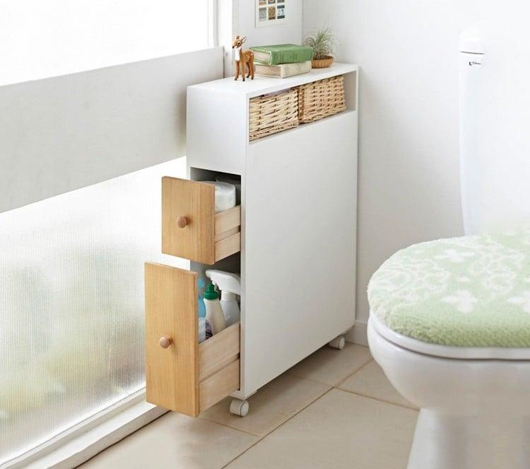 rangement papier toilette indispensable