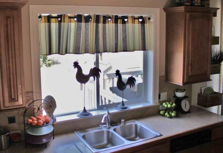 rideaux de cuisine et stores en 50 idees