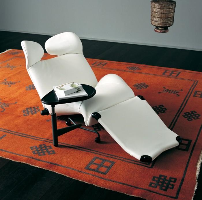 fauteuil de lecture au design