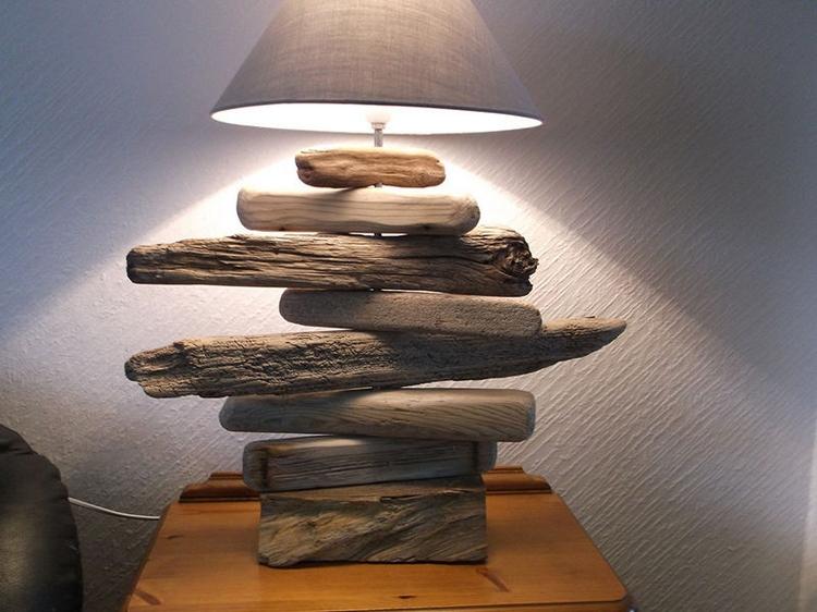 Lampe Bois Flott Lampadaire Et Suspension Par La Nature