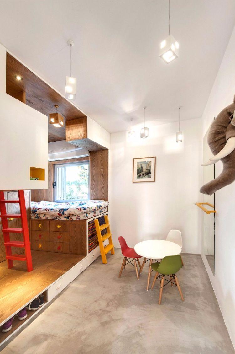 Bton Cir Au Sol Et Cloisons Ajoures Duplex Design