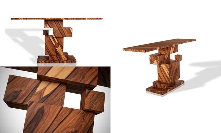 mobilier bois massif unique pour les