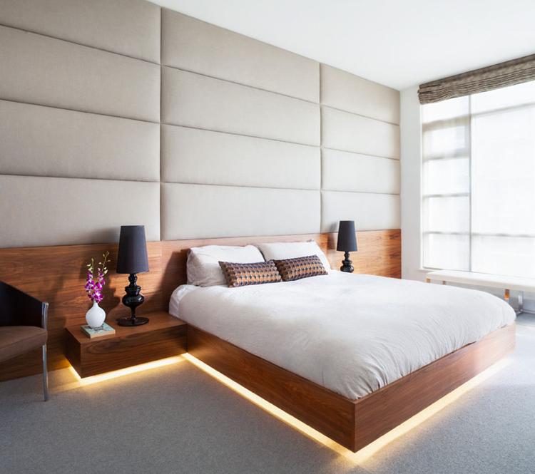 Lit Avec LED Intgr Au Dessous 11 Exemples Exclusifs