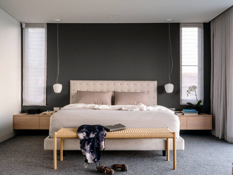Chambre Contemporaine Au Design Original En 35 Ides De