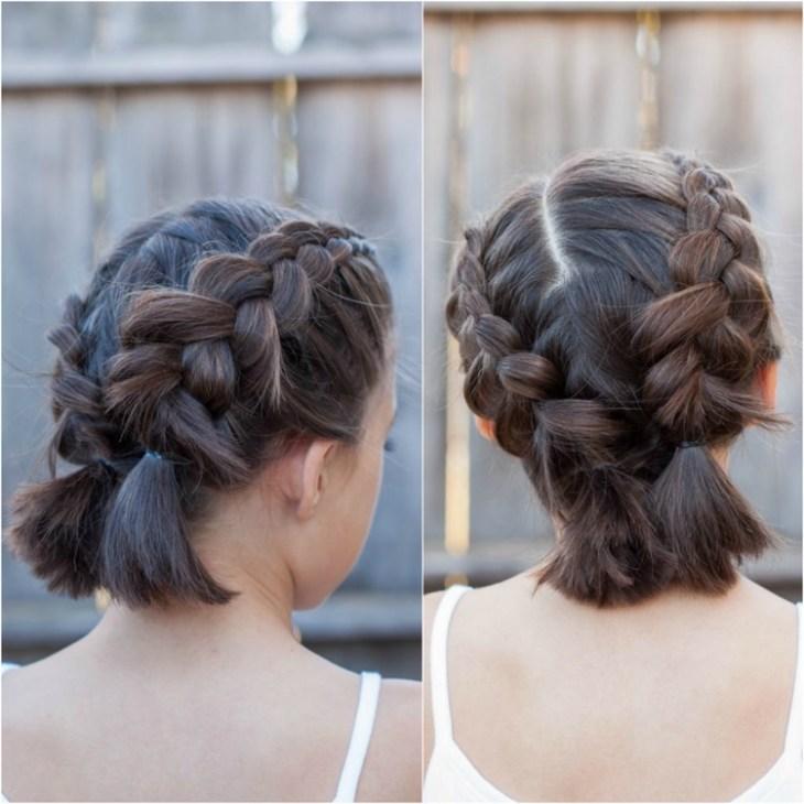 coiffure pour petite fille -double-dutch-braid-grosses-tresses-arrière-tête