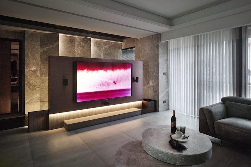 marbre gris en decoration d interieur d