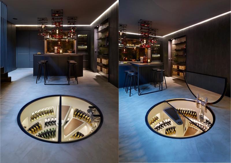 range bouteille design et cave a vin