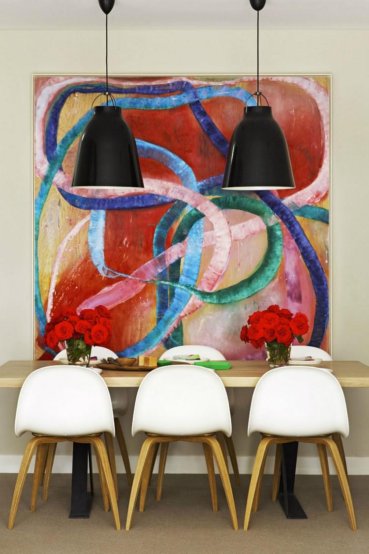 tableau abstrait moderne pour decorer