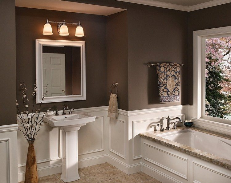 peinture salle de bain idees
