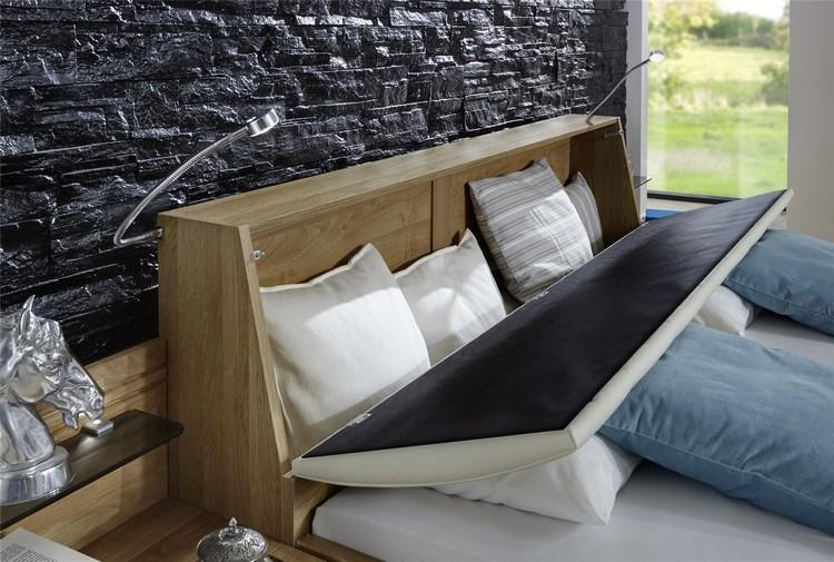 tete de lit avec rangement en 30 idees
