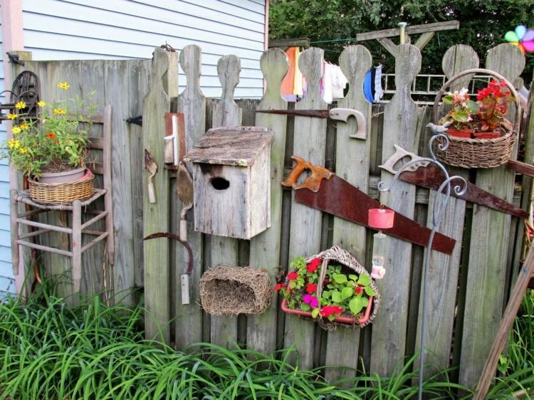Objets Rcup Pour Dcorer Son Jardin Amazing Decorer Son