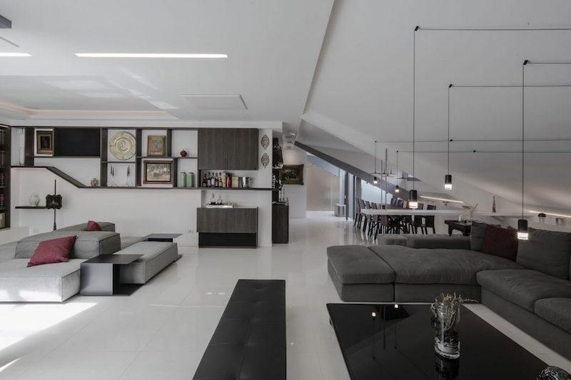 interieur de maison moderne un duplex