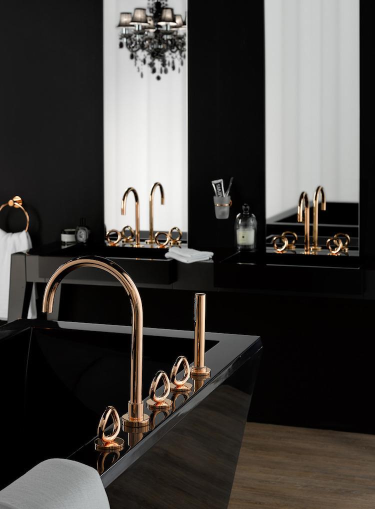 salle de bain noire avantages