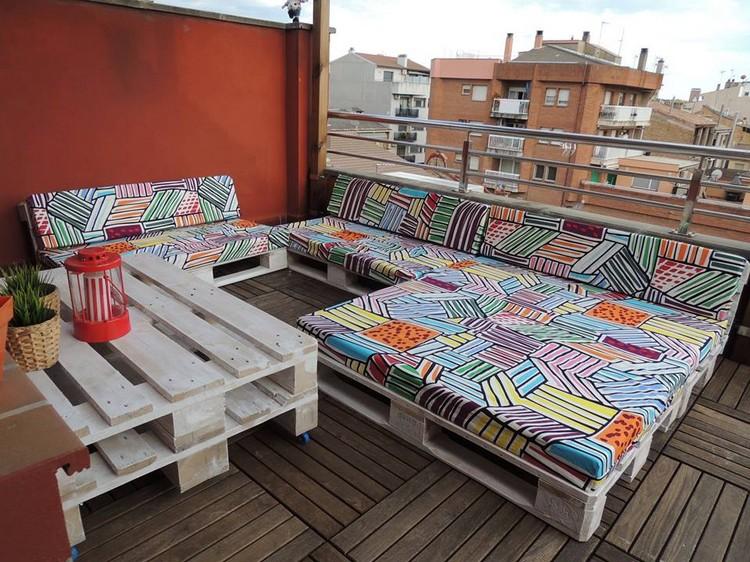salon jardin palette bois terrasse canapes salon de jardin en palette idees diy et conseils deco a ne pas manquer design exterieur