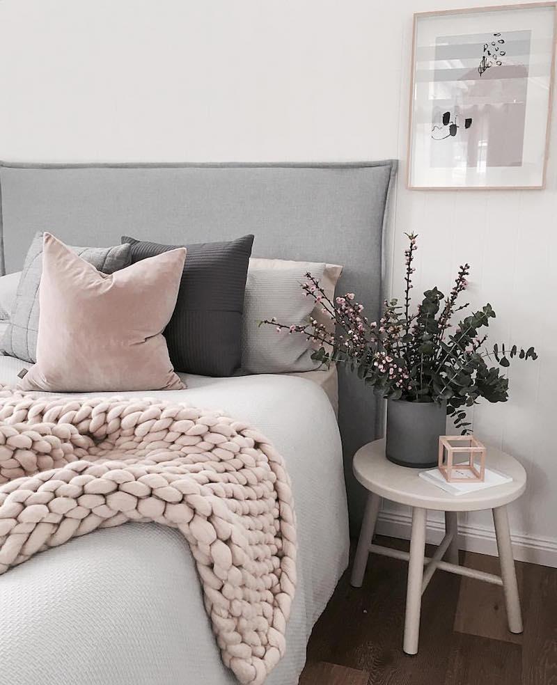 chambre rose et gris comment la