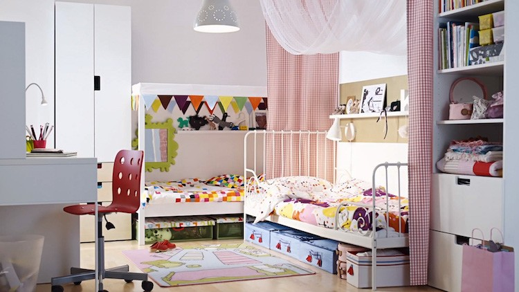 chambre enfant ikea idees lits decoration idees chambre enfant ikea union de meubles pratiques et decoration coloree