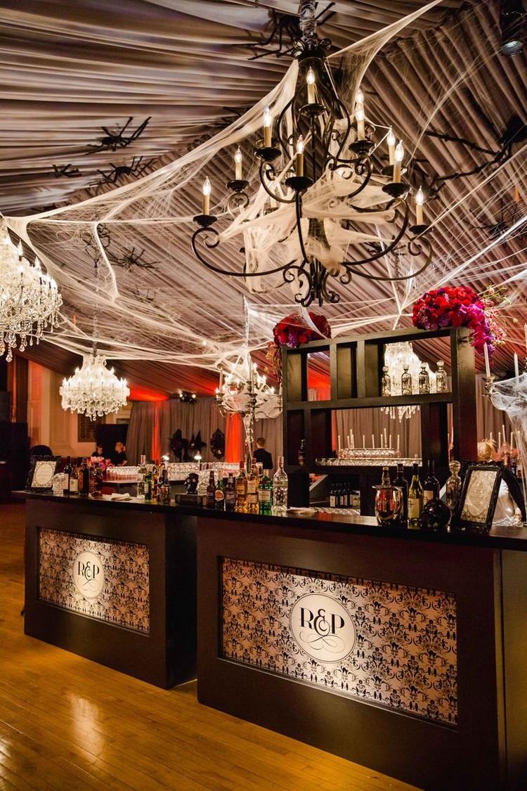 Mariage Thme Halloween Une Dco Gothique Rustique Et