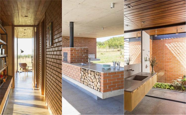 Maison En Brique Rouge Excellent Extension Et Sept