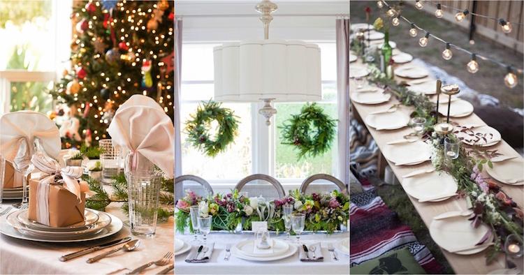 cheap ides de dcoration de table nol ou ides flambant neuves de dcoration de table nol ou moderne with photo deco table noel