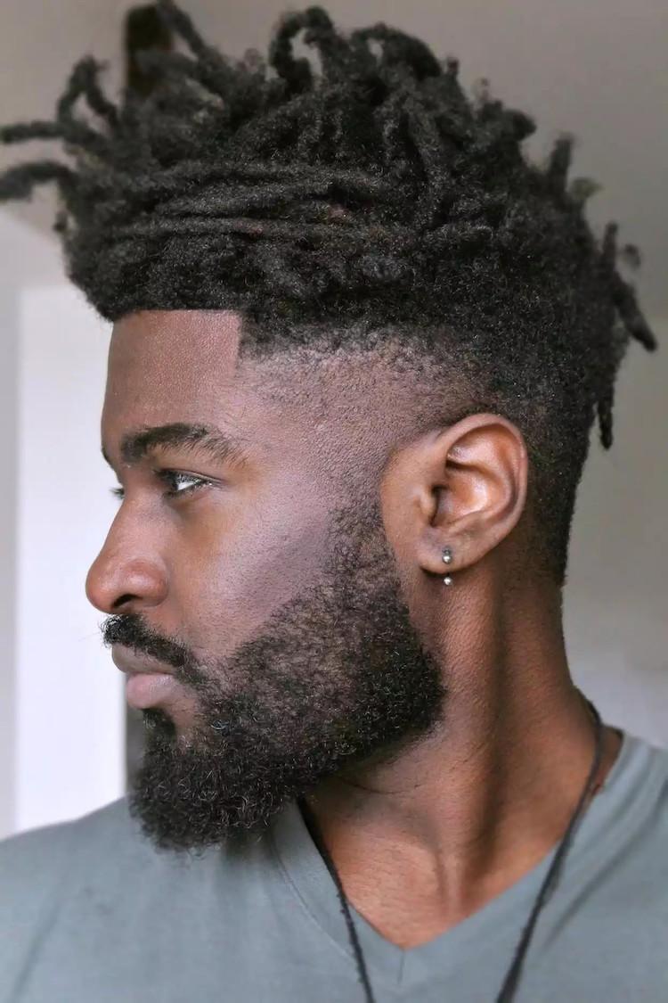 coiffure homme noir degrade osez le
