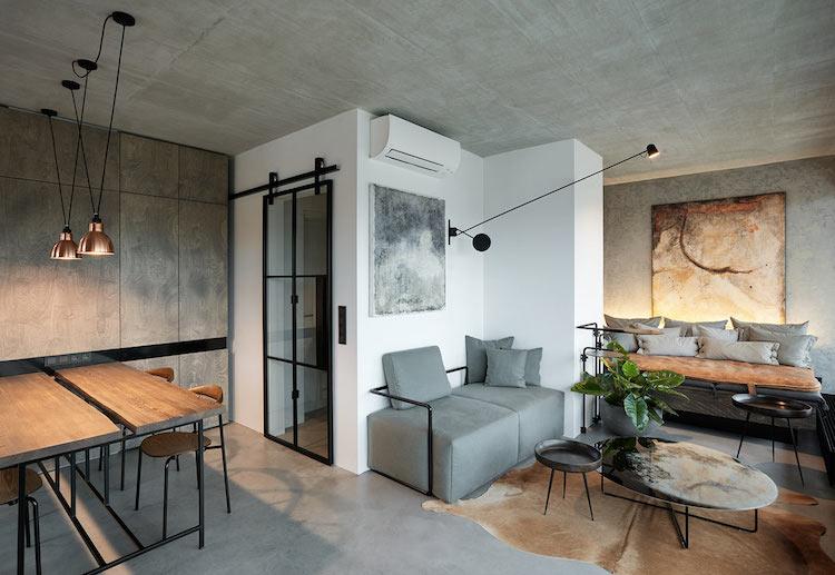 design interieur style industriel
