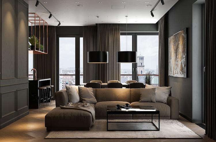 appartement sombre