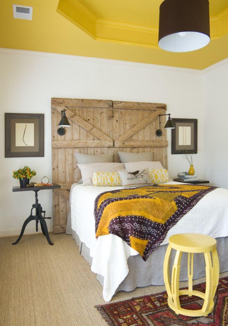 fabriquez une tete de lit creative