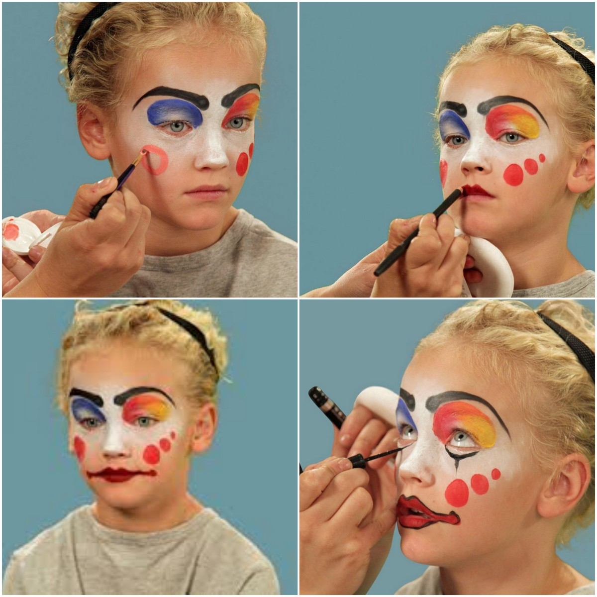 maquillage halloween fille 4