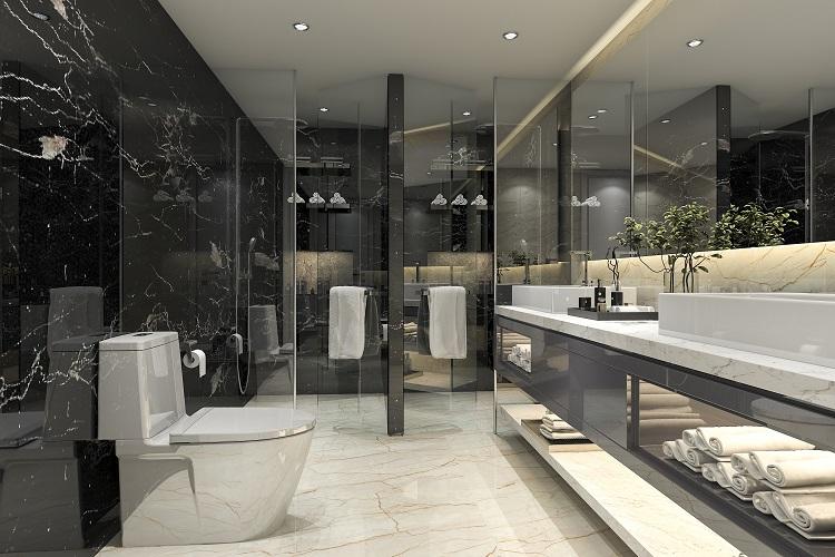 Douche Italienne Noire Comment Creer Une Salle De Bain Moderne