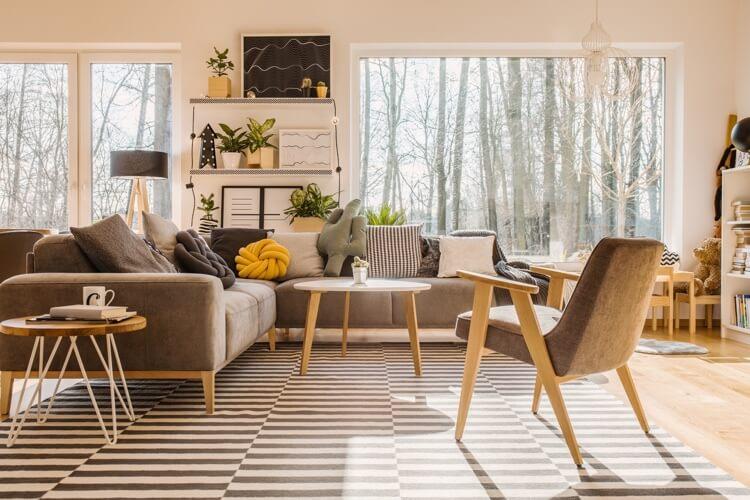 canape de style scandinave un meuble