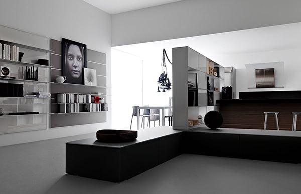33 Astonishing Modern and Minimalist Living Room Interior ... on Minimalist Living Room Design  id=29235