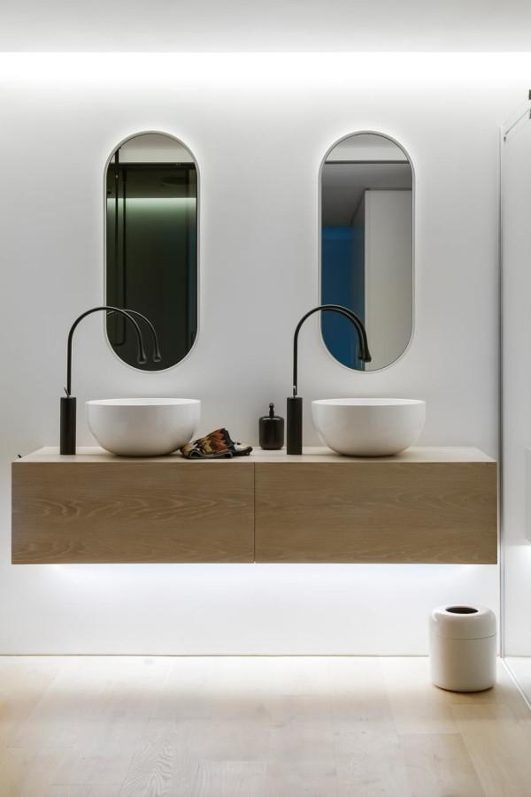 Ultra Modern Small Bathroom Design By Minosa