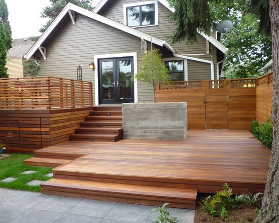 75 inspiring and modern deck design ideas for a relax in on Modern Patio Deck id=83016
