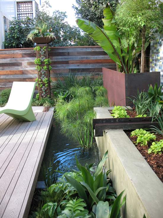 Garden water features - 75 ideas for the design of water oases on Water Feature Ideas For Patio id=17571