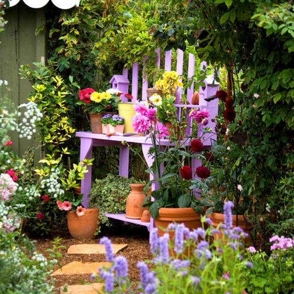 flower garden ideas and decorations 18 creative garden ideas for used furniture as garden