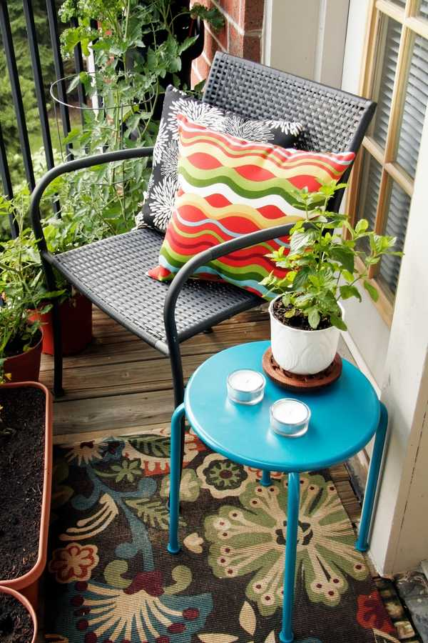Attractive Balcony Design On A Budget