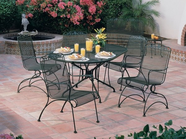 wrought iron patio dining sets 40 wrought iron patio furniture sets for a stylish outdoor