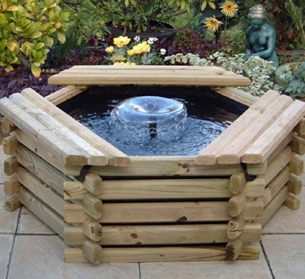 Mini Fish Pond Design