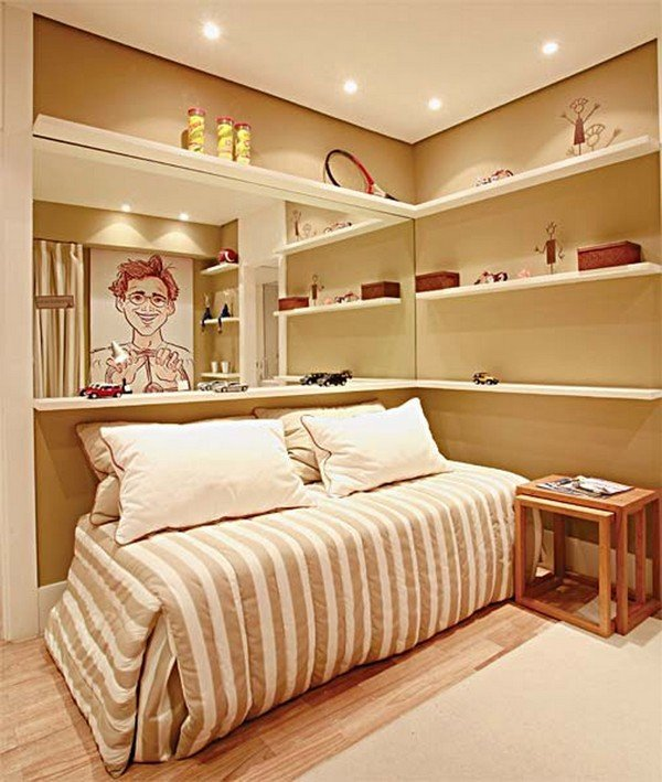 Teen rooms for boys - decoration and interior design ideas on Beige Teen Bedroom  id=37490