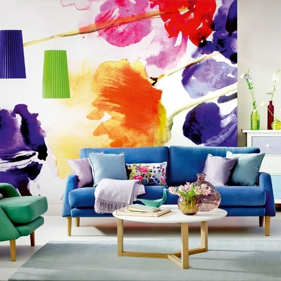 13 creative ideas for living room wall decorating with ... on Creative Living Room Wall Decor Ideas  id=89889