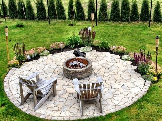 17 fire pit designs to make your patio area comfortable on Fire Pit Design  id=86900