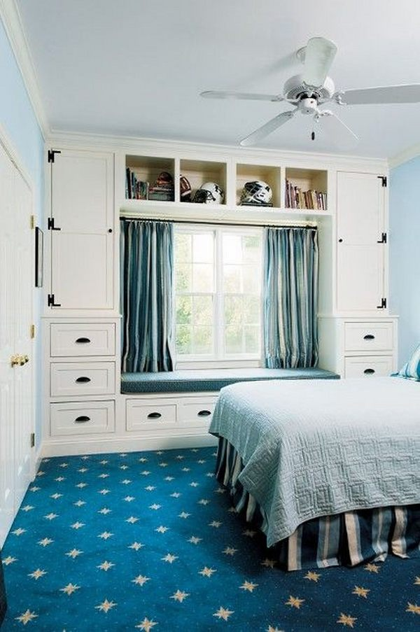 Storage ideas for small bedrooms to maximize the space on Bedroom Ideas For Small Spaces  id=21820