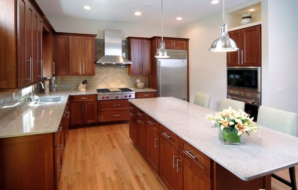 Kashmir White granite countertops - 25 ideas for the kitchen on Backsplash Ideas For Black Granite Countertops And Cherry Cabinets  id=66961