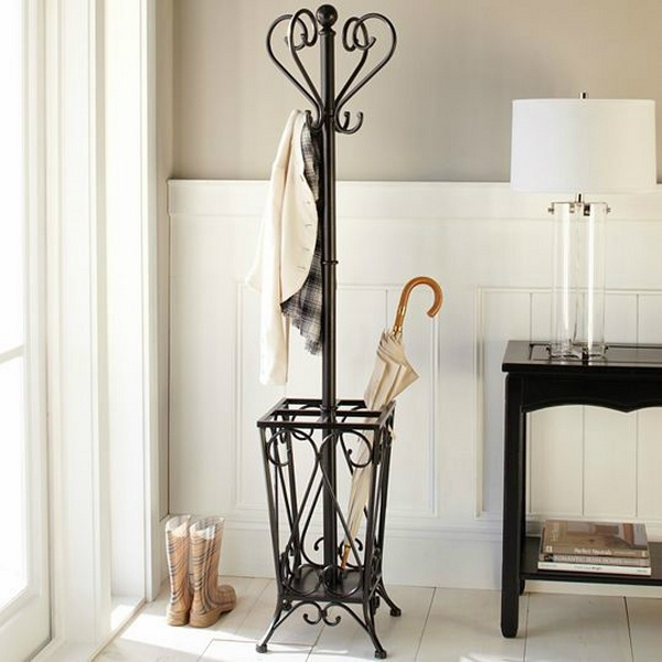 Coat rack ideas - 25 designs for a good first impression ... on Iron Stand Ideas  id=31290