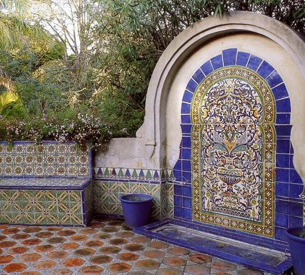Mexican tiles in the interior - richness of colors and ... on Mexican Patio Ideas  id=14126
